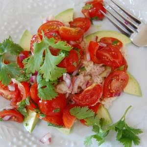 Summertime Tuna Tomato Salad