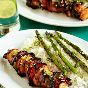 Asian Chicken Kebabs