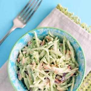 Easy Keto Broccoli Slaw Recipe (Low Carb and Gluten Free)