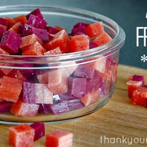 Homemade Healthy Fruit Snacks