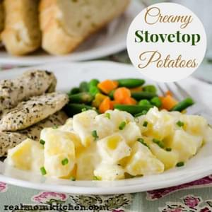 Creamy Stove Top Potatoes