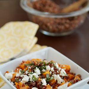 Sweet Potato and Quinoa Salad