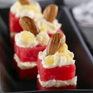 Chocolate Pomegranate Petit Fours Recipe