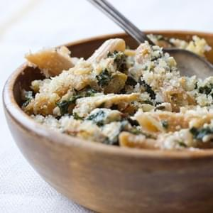 Chicken and Swiss Chard Pasta Bake
