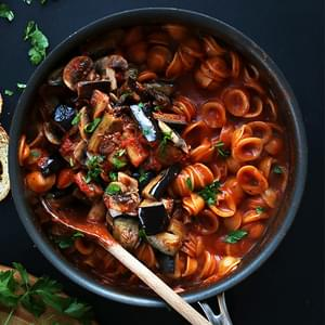 One Pot Vegan Pasta