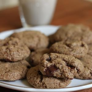 Chocolate Almond Butter Cookies