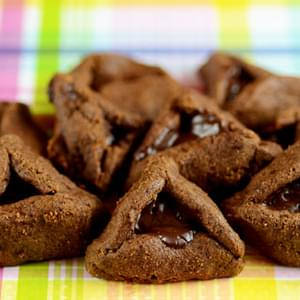 Nut Free Chocolate Hamantaschen