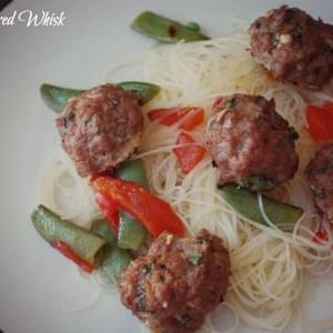 Ginger Pork Meatballs
