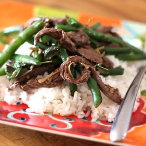 Thai Steak and Green Bean Stir Fry