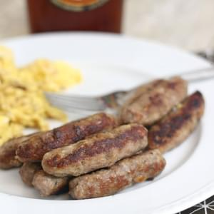 Homemade Turkey Breakfast Sausage