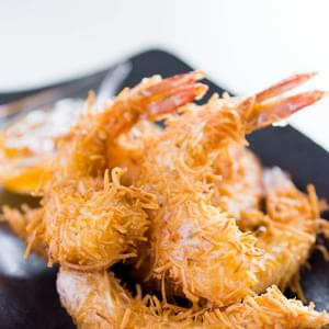 Coconut Shrimp with Spicy Orange Sauce