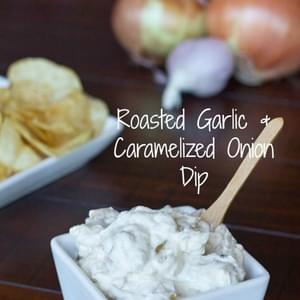 Roasted Garlic & Caramelized Onion Dip