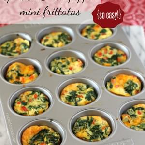 Mini Frittata Cups with Mascarpone and Prosciutto Recipe