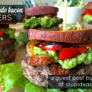 Paleo Avocado Bacon Sliders