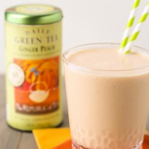 Ginger Peach Green Tea Smoothie