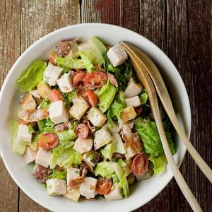 Turkey Club Sandwich Salad