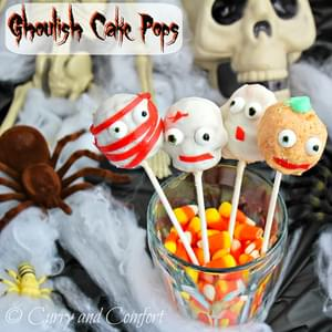 Ghoulish Cake Pops
