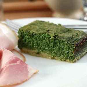 Dave T's Spinach Cake