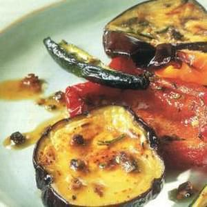 Marinated Roast Vegetable Salad