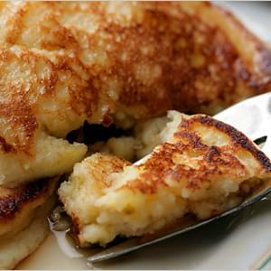 Fluffy & Healthy Cottage Cheese Pancakes