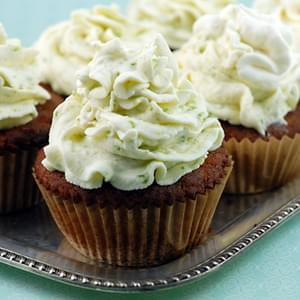Coconut Cupcakes with Key Lime Icing