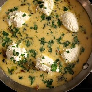 Onion and Ricotta Frittata