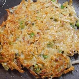 POTATO- SCALLION PANCAKES