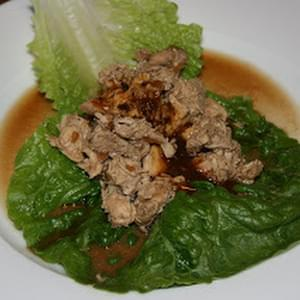 Chicken Lettuce Wraps CrockPot