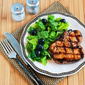 Grilled Ginger-Soy Pork Chops