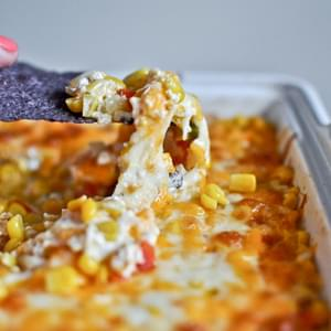 Hot + Cheesy Corn Dip