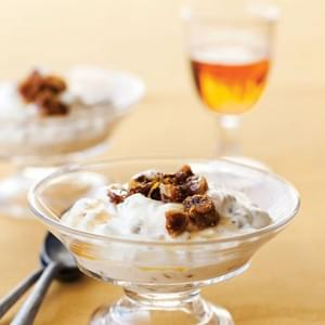 Wheat Berry Fools with Grand Marnier Figs