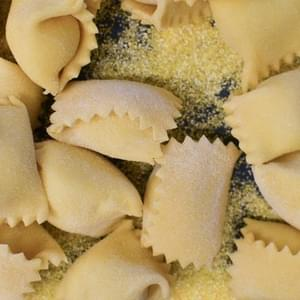 How To Fill and Shape Agnolotti Pasta