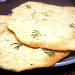 Crisp Rosemary Flatbread