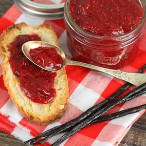 Maple Raspberry Jam {with Chia}
