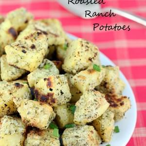 Oven Roasted Ranch Potatoes