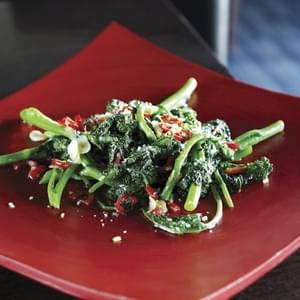 Rapini With Chile And Meyer Lemon