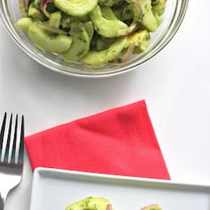 Cucumber Avocado Salad