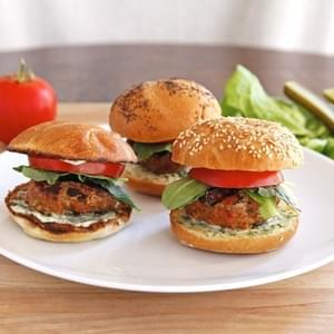 Spiced Up Turkey Burgers