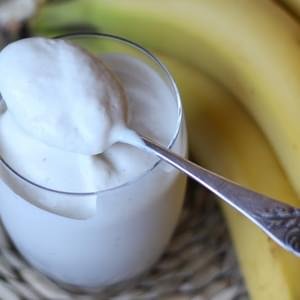Coconut Milk Banana Smoothie Ice Cream