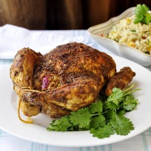 Indian Spiced Roast Chicken