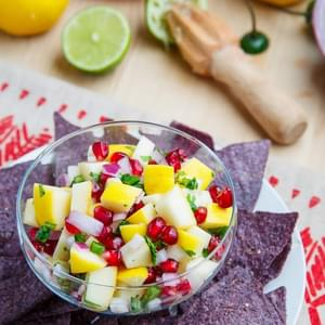 Apple and Pomegranate Salsa