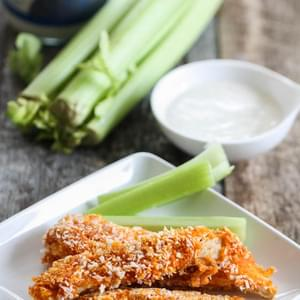 Easy Buffalo Chicken Fingers