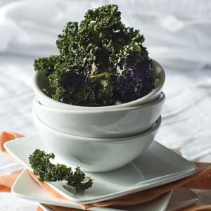Gluten Free Salt & Vinegar Roasted Kale Chips