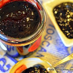 ~dark Red Cherry Bbq Sauce~