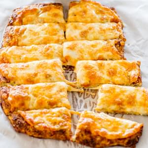 Cheesy Cauliflower Breadsticks