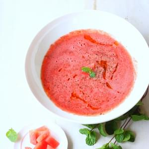 Watermelon and Mint Soup