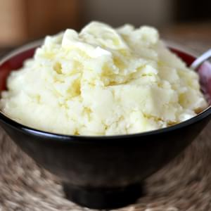 Roasted Garlic and Parmesan Mashed Potatoes