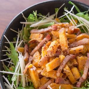 Sweet Potato Bacon Salad