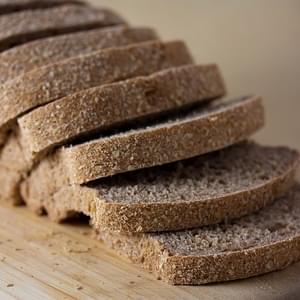 Vegan No Knead Whole Wheat Sandwich Bread