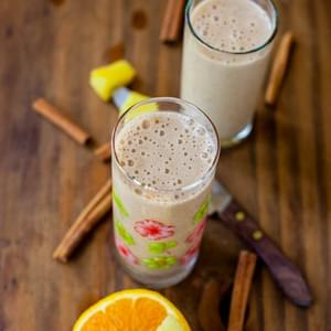 Citrus and Spice Smoothie (vegan and gluten-free)